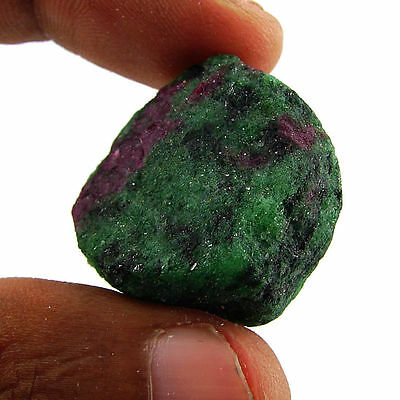 70.50 Ct Natural Ruby Zoisite / Anyolite Loose Gemstone Rough Specimen - 10108