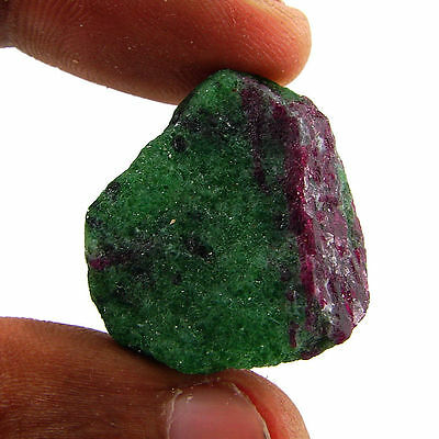 73.50 Ct Natural Ruby Zoisite / Anyolite Loose Gemstone Rough Specimen - 10126
