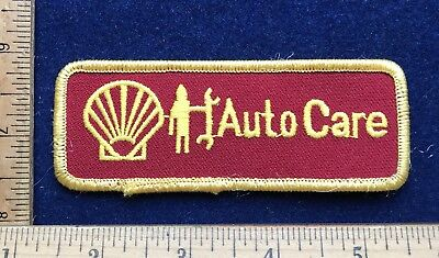 Vintage Shell Gas Oil Auto Repair Services Uniform Patch