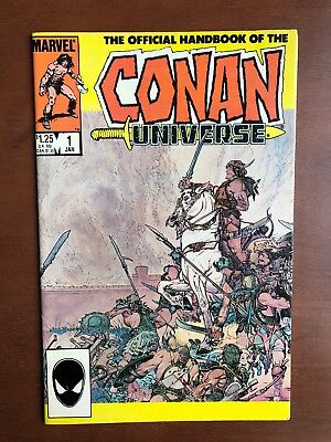 Handbook of the Conan Universe Comic Book #1 (1986) 9.2 NM Marvel Key Issue