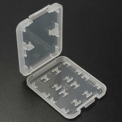 Memory Card Storage Case Holder with 8 Slots for SD SDHC MMC MicroSD Cards best