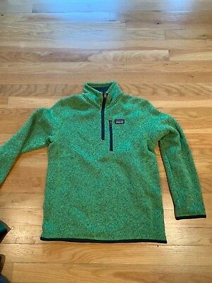 PATAGONIA BOYS BETTER Sweater 1 4 Zip f58e30a03