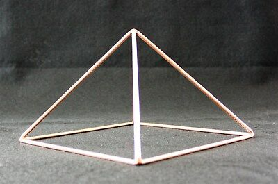 9 INCH COPPER Pyramid Handmade to Order