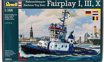 Revell 05213 Harbour Tug Boat Fairplay I, III, X,  NEU OVP