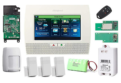 Honeywell Lynx Touch 7000 Home Security Alarm Kit w/ WiFi, Zwave & LTE-L57V