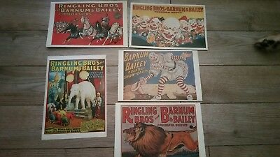 Ringling Bros and Barnum and Bailey Circus ~ Unused Sticker / Decals / Posters