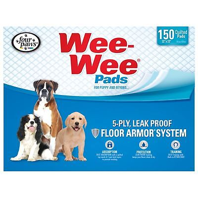 New Open box Four Paws Wee-Wee Standard Puppy Pads, 150 Ct