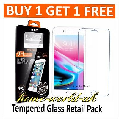 2 X for iPHONE 6 6S  GENUINE TEMPERED GLAAS SCREEN PROTECTOR  NEW stock