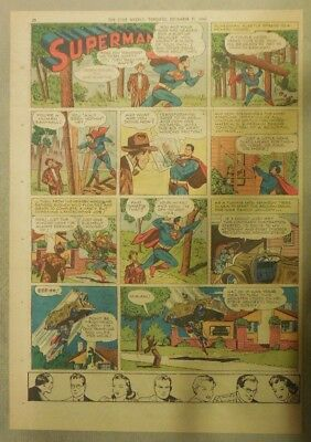 Superman Sunday Page #373 by Siegel & Shuster from 12/22/1946 Tab Page:Year #7!