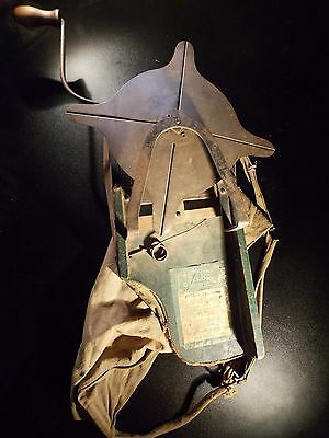 """Antique """"the Cyclone Seed Sower"""" Patent 1902 And 1905 Seeder"""