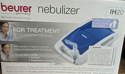 beurer IH 20 Nebulizer For Colds,Asthma,Respiratory Support for adult/children