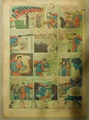 Superman Sunday Page #357 by Siegel & Shuster from 9/1/1946 Tab Page:Year #7!