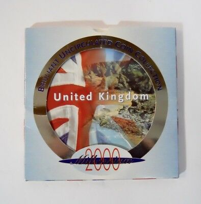 United Kingdom 2000 Brilliant Uncirculated Coin Collection In Original Packaging