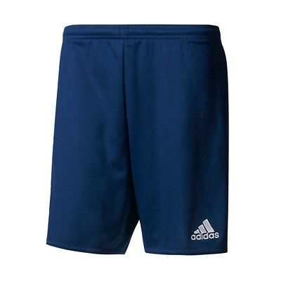 Adidas Parma 16 Men's Soccer Shorts (Dark Blue/White) || Was $18