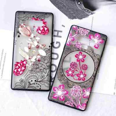 Floral Flower Shockproof Hybrid Case Cover For Samsung Galaxy Note 9/S9/S8 Plus