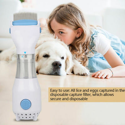 Electronic Flea Comb Pets Dogs Cats Puppy Fleas Killer Flea Tick Remedies New