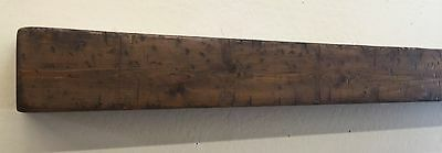 Primitive Fireplace Mantle, Wood Beam Mantle, Rustic Mantle, 66 inches