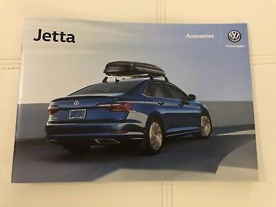 2018 VW JETTA ACCESSORIES 32-page Original Sales Brochure
