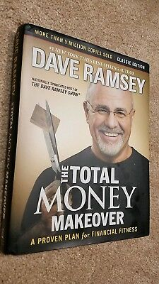 THE TOTAL MONEY MAKEOVER HARDCOVER BOOK By Dave Ramsey