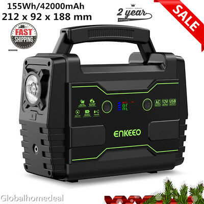 Portable 155Wh Electric Generator Power Supply Camping Power Station Travel AU