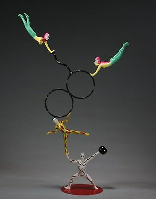 MAGNETIC ACROBATS EQUILIQUE Interactive Sculpture from JOHN PERRY