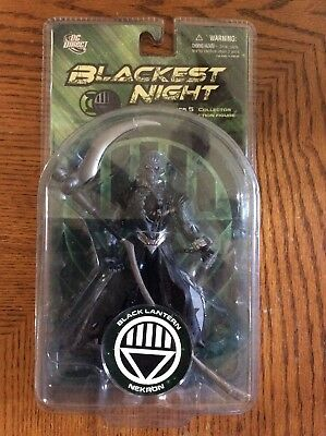"Blackest Night BLACK LANTERN NEKRON 6"" Action figure DC DIRECT UNIVERSE SERIES 5"