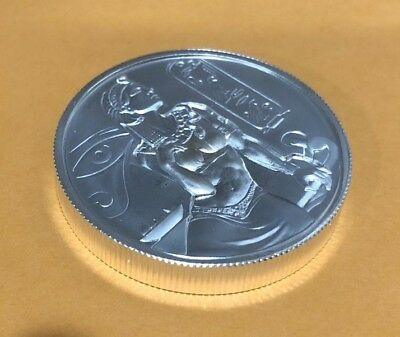 """2 oz Silver """"Cleopatra"""" Ultra High Relief Silver Round .999 Silver"""