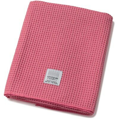 NEW Canningvale Luxe Waffle Weave Microfibre Soft Hair Drying Towel Shower Wrap