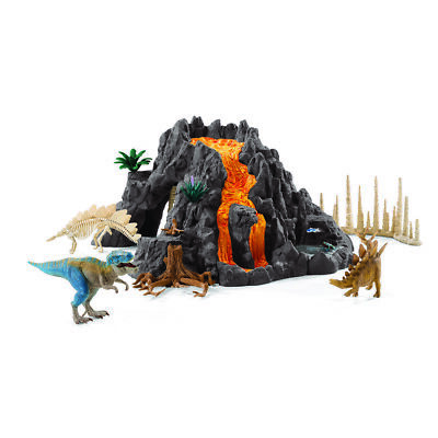 Schleich Dinosaurs - Giant Volcano With T-Rex - 42305 - Authentic - New