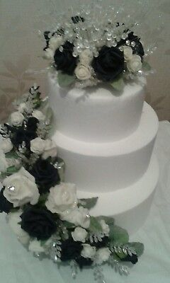 Wedding Topper & Side Flowers ** Any Colour**