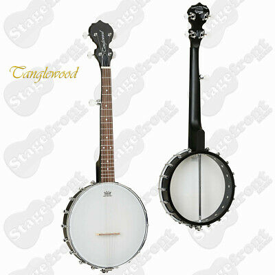TANGLEWOOD TWBT TRAVELLER BANJO 5 STRING 78cm OVERALL LENGTH SMALL TRAVEL SIZE