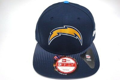 8e22c5099 San Diego Chargers New Era 9Fifty Original Fit Snapback Hat 2015 Draft