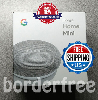 Google Home Mini - Gesso, Google Personale Assistente (Ga00210-us) - Nuovo