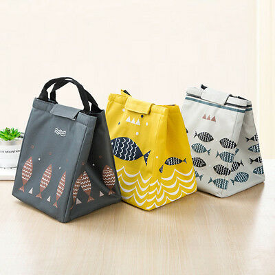 Cute Insulated Bento Lunch Boxes Tote Thermal Coolers Storage Bags for Women Kid