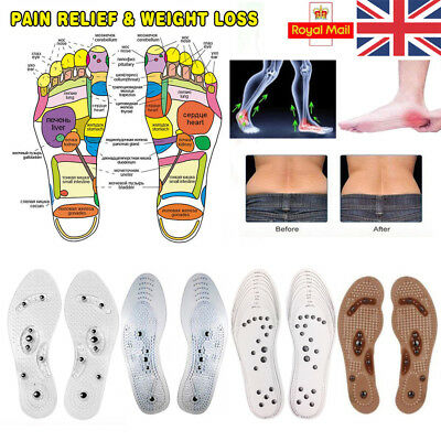 MindInSole Acupressure Magnetic Massage Foot Therapy Reflexology Pain Fat Relief
