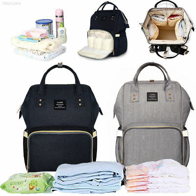 Genuine Multifunctional Baby Diaper Nappy Backpack Waterproof Changing Bag