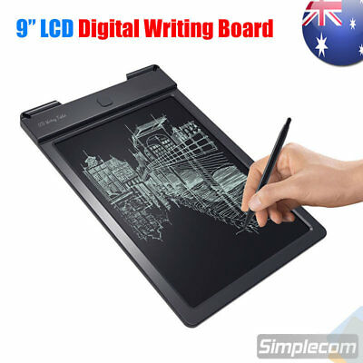 9 Inch LCD Writing Tablet Digital Drawing Pad Message Draft Board for Kids Work