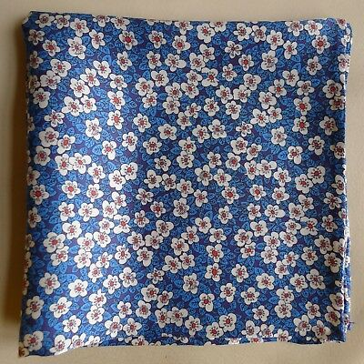 Ffion Mair Liberty of London silk pocket square