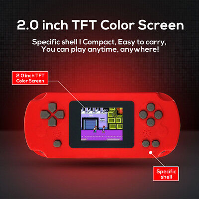 Portable Handheld Game Console 8 Bit Game Player Built-in 268 Classic Games R9W4