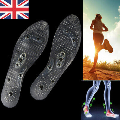MindInSole Acupressure Magnetic Massage Foot Pain Fat Relief Slimming Insole UK