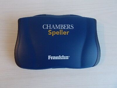 Franklin : Chambers Speller : Very Good Working Condition