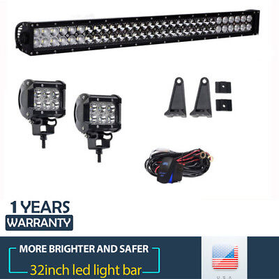 "STRAIGHT 30"" 180W LED Light Bar Combo Beam for Driving Off-Road Truck 4WD Boat"