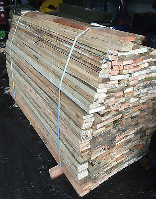 Pack of 10 6ft 1.8m long 1 Inch 25mm Thick Wood Timber Various Widths
