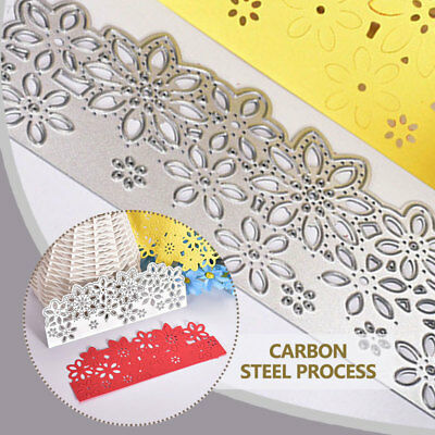 ACD5 Cutting Dies Carbon Steel Lace DIY Paper Crafts Detailed Kids Template