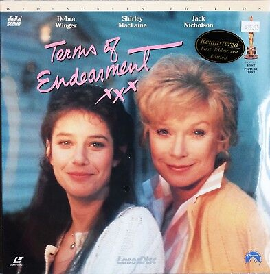 Terms of Endearment - Widescreen Edition Laserdisc - Factory Sealed