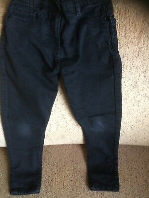 Boys Black Skinny Jeans Size 7 Years By I Love Denim Matalan