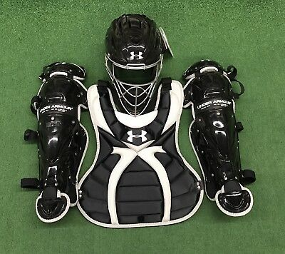 Under Armour Women's 13-16 Fastpitch Catcher's Gear Set UAWCK2-SRVS - Black