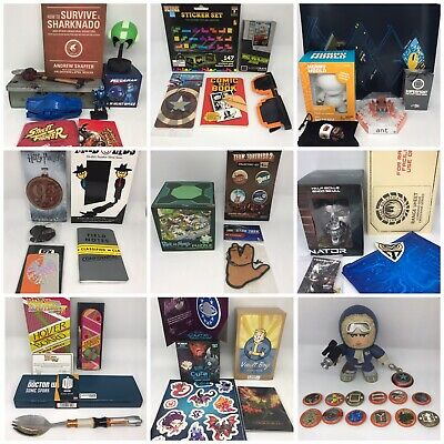 Loot Crate Lot Bundle Harry Potter Fallout Doctor Who Star Trek Stocking Stuffer