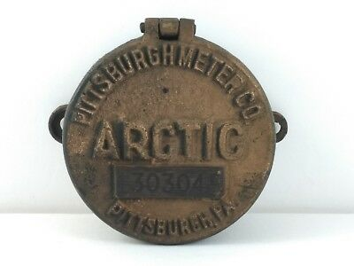 ARCTIC Water Meter Cover Brass Pittsburgh Industrial Steampunk