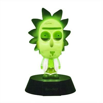 Rick And Morty: Toxic Rick LE Icon 3D Light